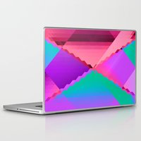 computer Laptop & iPad Skins featuring Computer Dreams by Blank & Vøid