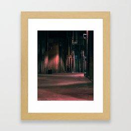 Regomir Street (Barcelona) Framed Art Print