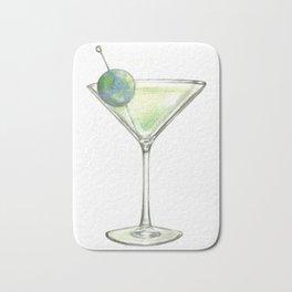 Big Martini in the sky Bath Mat