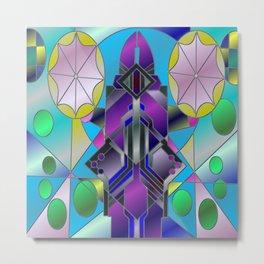 Sea Window Metal Print