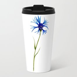 Simple Cornflower Travel Mug