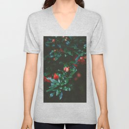 Pomegranate Study, No. 1 Unisex V-Neck