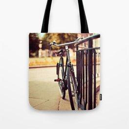 Old vintage style bike Tote Bag