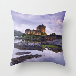 The Guardian of the Lake Throw Pillow