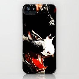 Kitsune Yokai Japanese Evil Fox Mask iPhone Case