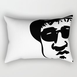 Face Blues Brother John Belushi Rectangular Pillow