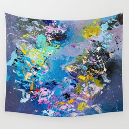 Strangers in space Wall Tapestry