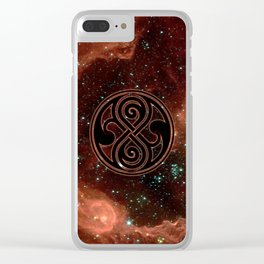Seal Of Rassilon Clear iPhone Case