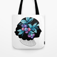 Blueberry Essence Tote Bag