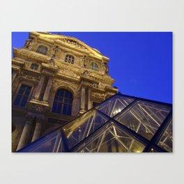 Musée du Louvre - modern and old, Paris Canvas Print