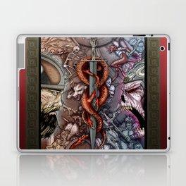 The Bone-Hilt Sword Laptop & iPad Skin