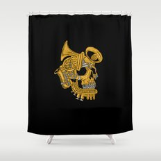 Real Brass Shower Curtain