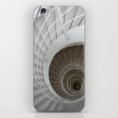 the spiral (architecture) iPhone Skin