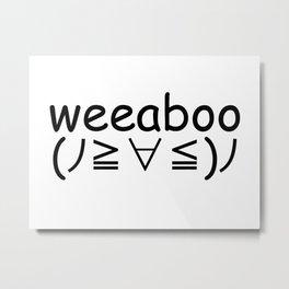 Weeaboo Metal Print