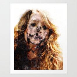 Dogface II Art Print