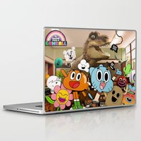 gumball Laptop & iPad Skins featuring GUMBALL by rosita