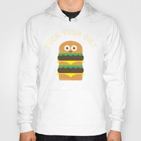 fleetwood mac Hoodies featuring Discounting Calories by David Olenick