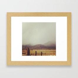 Midway Fields Framed Art Print