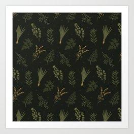 Fresh Herbs 2 Art Print