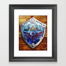The Hylian Shield Framed Art Print