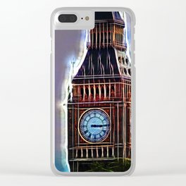 Iluminated Big Ben Clear iPhone Case
