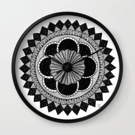 Mandala byn Wall Clock