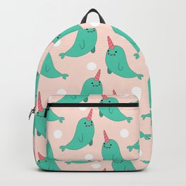 Narwhal Loves You Backpack