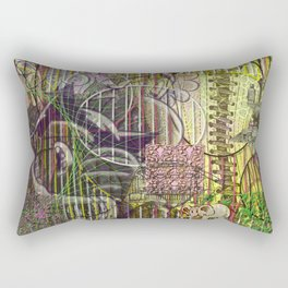 A Strict Code for Mourning Flowers (2) Rectangular Pillow