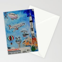 The Mexican Aviation La Aviacion Mexicana by Juan Manuel Rocha Kinkin Stationery Cards