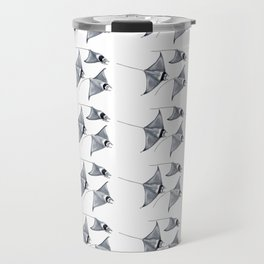 Manta ray devil fish Travel Mug