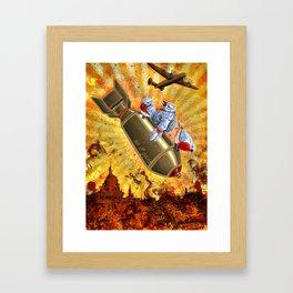 Poo-tee-weet? Framed Art Print
