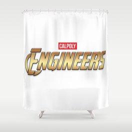 Cal Poly Engineer (Engineers) Shower Curtain