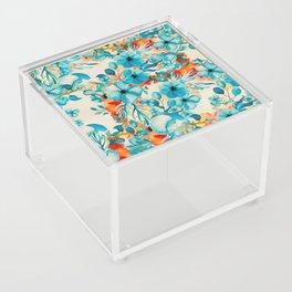 Coral Blooms Acrylic Box