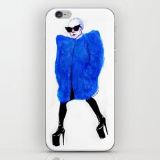Cobalt Love iPhone & iPod Skin