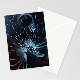 microraptor Stationery Cards