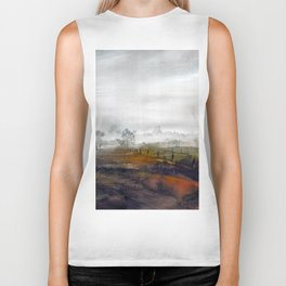 Misty meadow Biker Tank