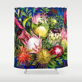 Protea Bounty Shower Curtain