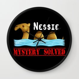 Nessie was a camel or so Wall Clock