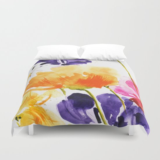 Little garden Duvet Cover