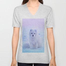 American Eskimo Dog Unisex V-Neck