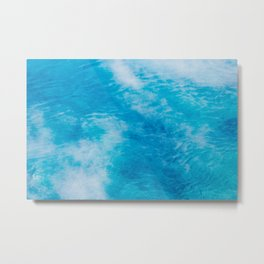 Prettiest of Blue - Abstract Nature Metal Print