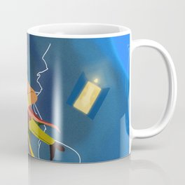 6th doctor in the Time Vortex Coffee Mug
