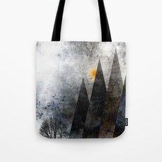 TREES under MAGIC MOUNTAINS VIIIa Tote Bag