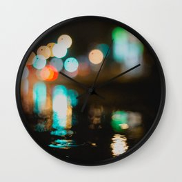 Hot lights Wall Clock