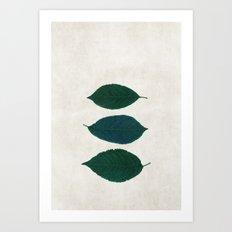 three of a kind 5 Art Print