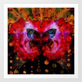 Cosmic butterfly II Art Print