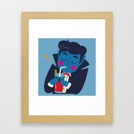 Vampi, the Sweetest Vampire - III Framed Art Print