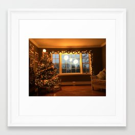 Christmas Glow Framed Art Print