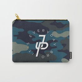 Jake Paul Blue military camo Carry-All Pouch