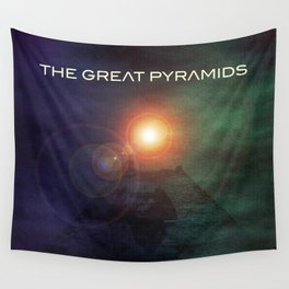 The Great Pyramids  Wall Tapestry